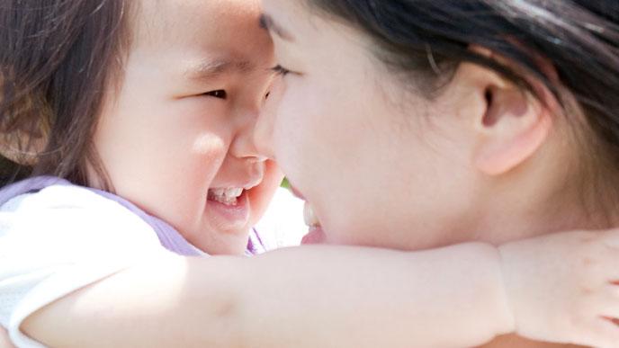 赤ちゃんの世界の全てはママ