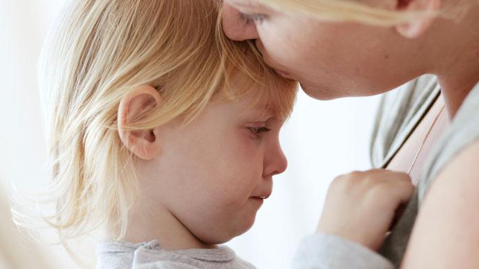 ママと赤ちゃんとのやりとりや愛情ある関わりが基本