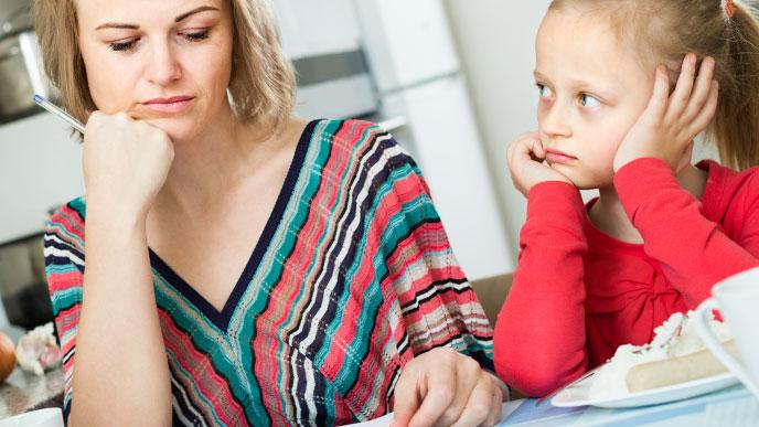 子どもと四六時中一緒でストレスが溜まる