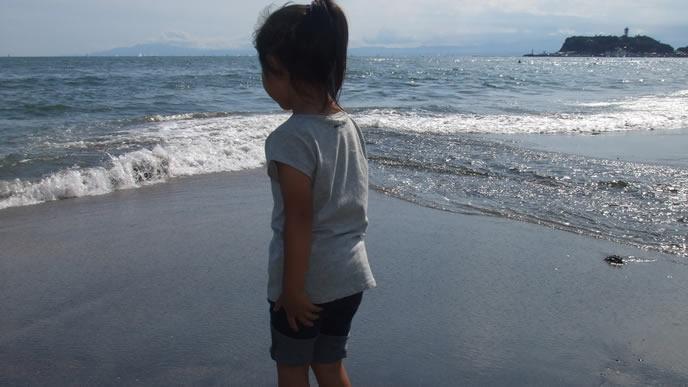 海が大好きなアウトドア派の女の子