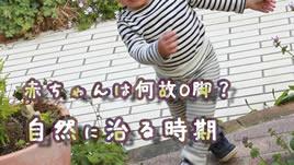 赤ちゃんのo脚が自然に治る時期は 月齢毎の脚の成長 ベビリナ