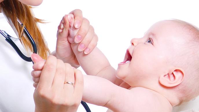 お医者さんが大好きな赤ちゃん