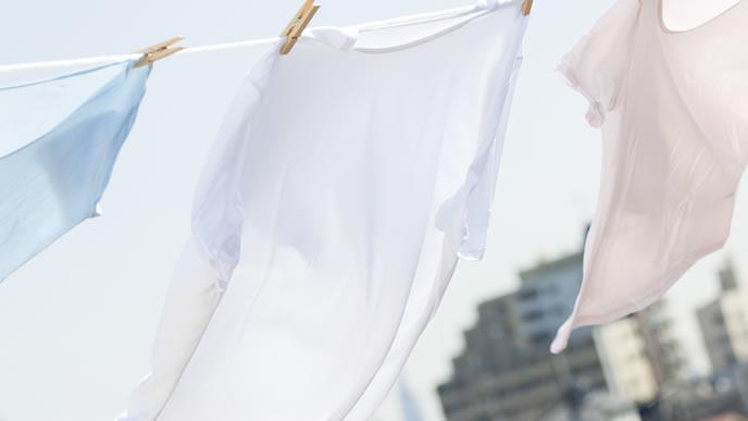 お天気が良い日の洗濯物