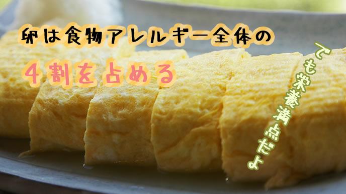 栄養満点の卵焼き