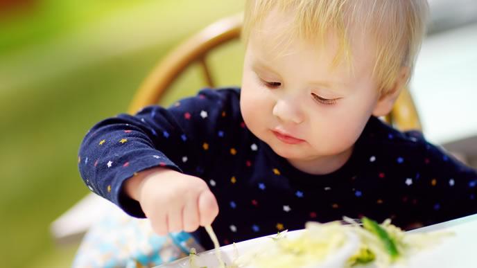 卵焼きが大好きな赤ちゃん