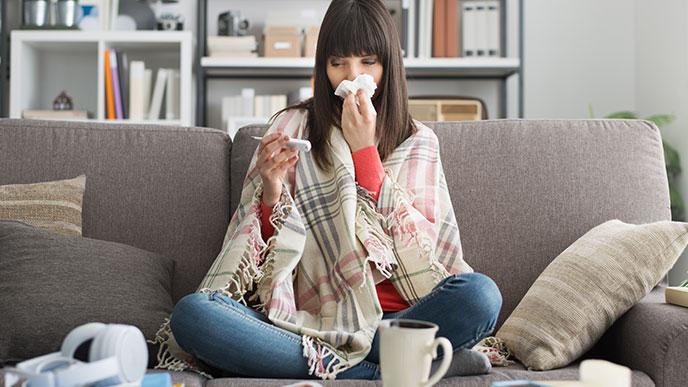 風邪に似た症状