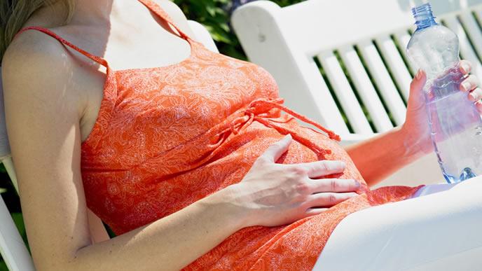 帝王切開で出産する予定のママ