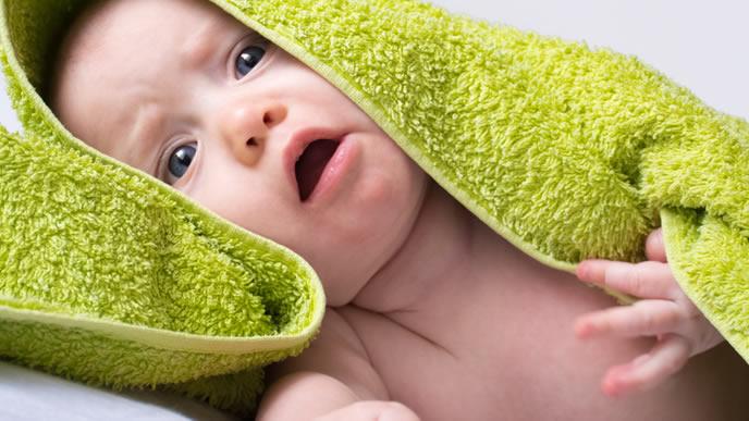 ママに不調を訴える赤ちゃん
