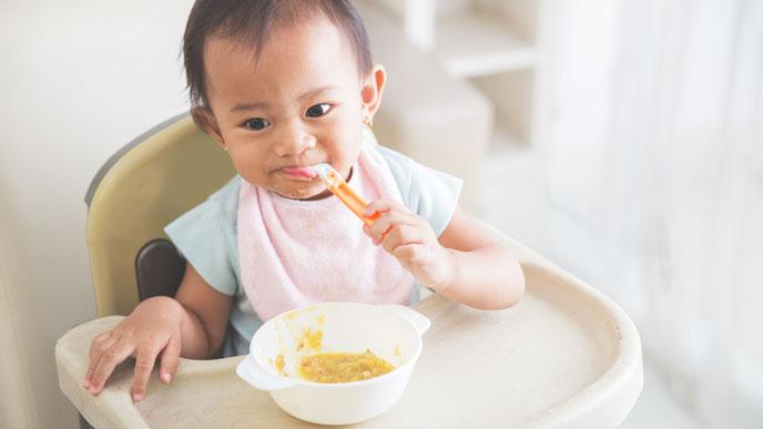離乳食を増やすときの注意点