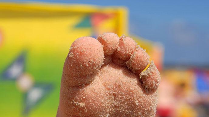 日焼けのダメージ肌は保湿ケアして水いぼ予防