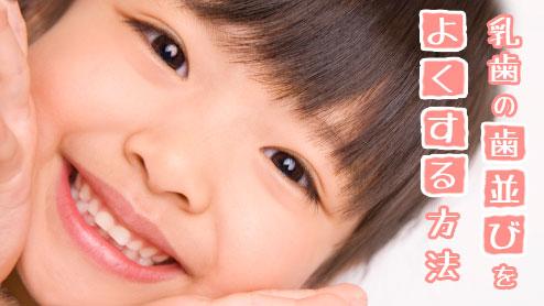 乳歯の歯並びを永久歯が生えるまで理想的に保つには