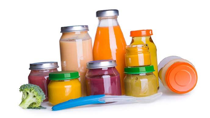 市販の乳児用ジュース