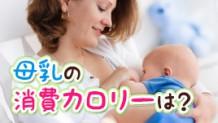 母乳による消費カロリーは?授乳中の食事量を知りたい!