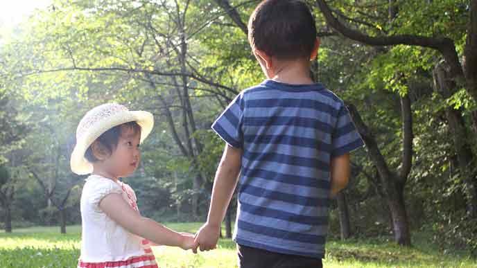 4歳差の兄弟姉妹