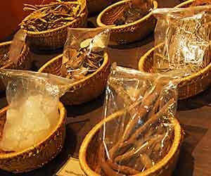 漢方薬の材料
