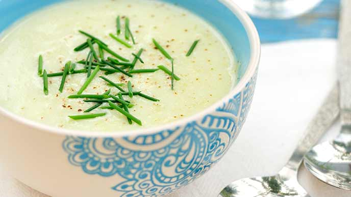 ズッキーニのクリームスープ