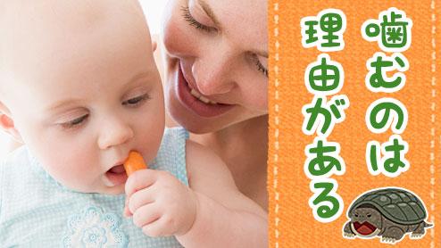 赤ちゃんが噛むのは理由がある!噛みつきをやめさせる方法