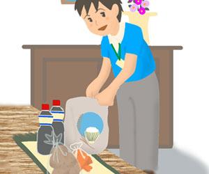 食材の宅配サービス