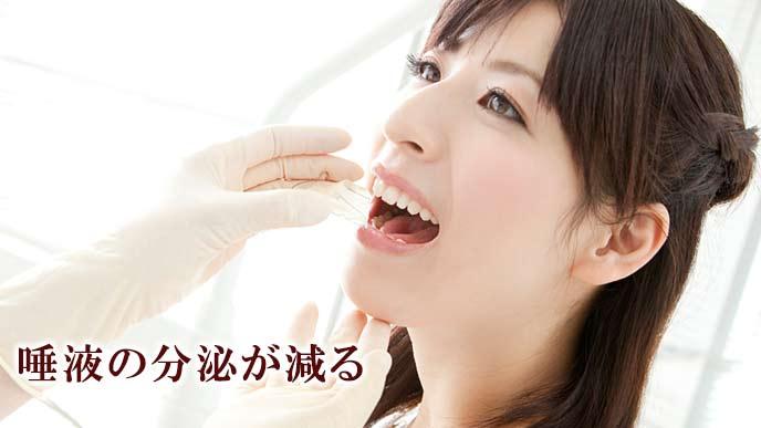 歯科検査を受ける妊婦
