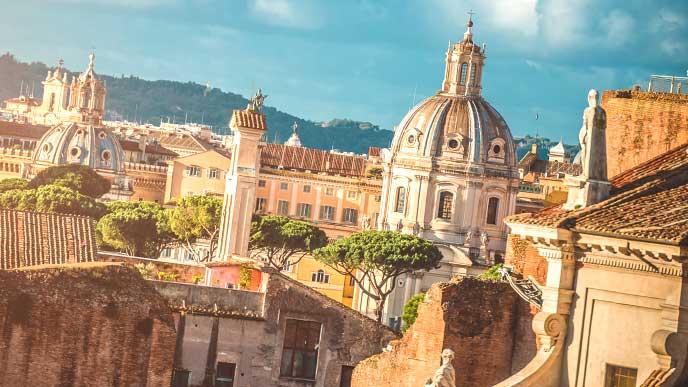 ローマの街並