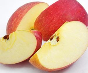 カットされたリンゴ