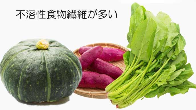 不溶性食物繊維が多い食材
