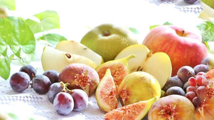 旬の野菜とフルーツ