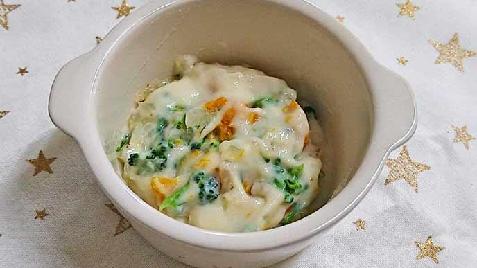 野菜豆乳グラタン完成品