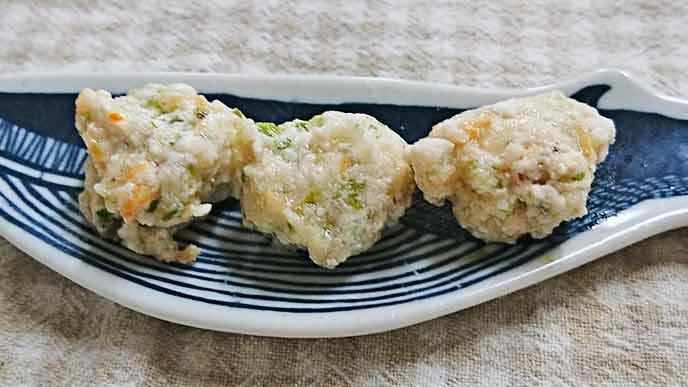 豆腐入り鶏団子完成品