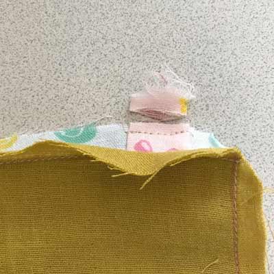 タグの内側の部分を切る