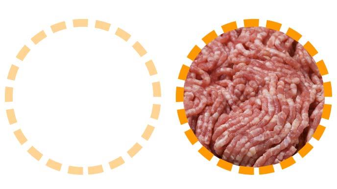 牛豚合い挽き肉