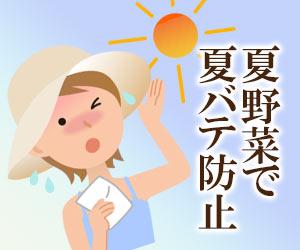 夏野菜で夏バテ防止