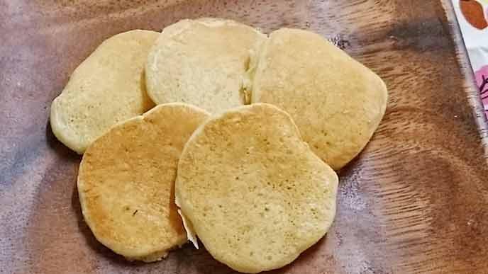 梨のパンケーキ完成品