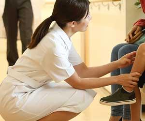 病院で働く看護師